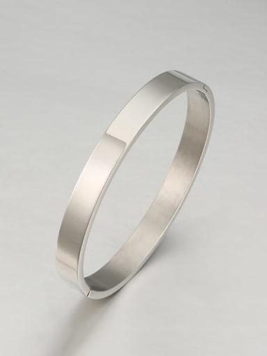 Titanium smooth und Minimalist Bracelet