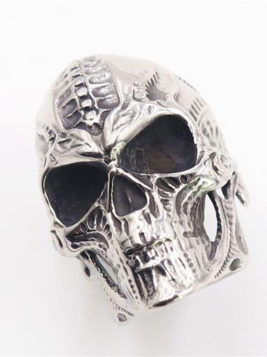 Stainless steel Skull Vintage Band Ring
