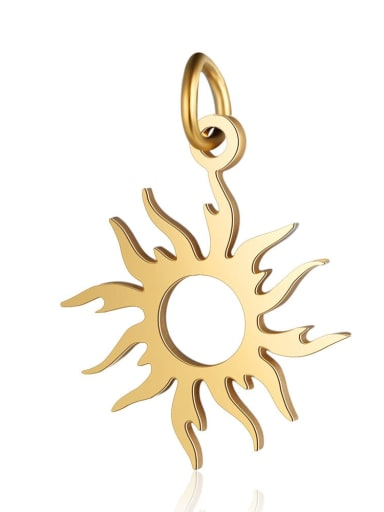 Stainless steel Charm Height : 16 mm , Width: 22 mm