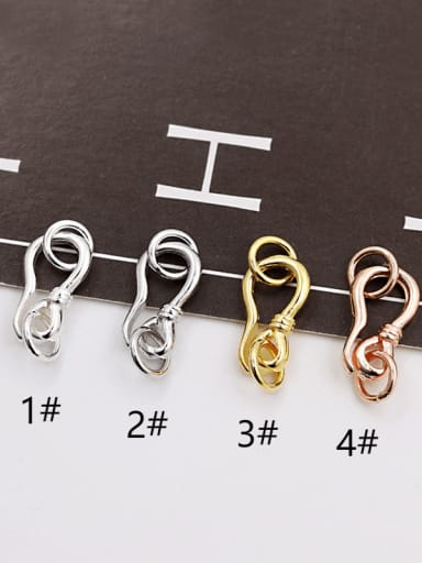 925 Sterling Silver S Shape Clasp