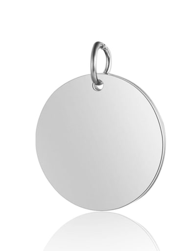 1 Stainless steel Round Stone diameter: 6mm 8mm 10mm 12mm 14mm 16mm 18mm 20mm Charm