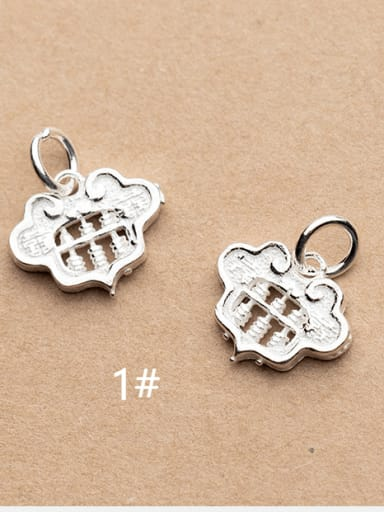 925 Sterling Silver Locket Charm Height : 14 mm , Width: 12.5 mm