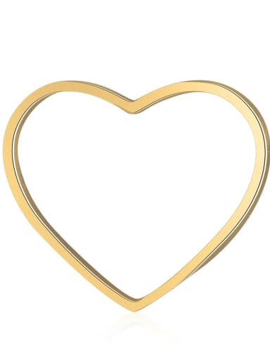 Stainless steel Heart Charm