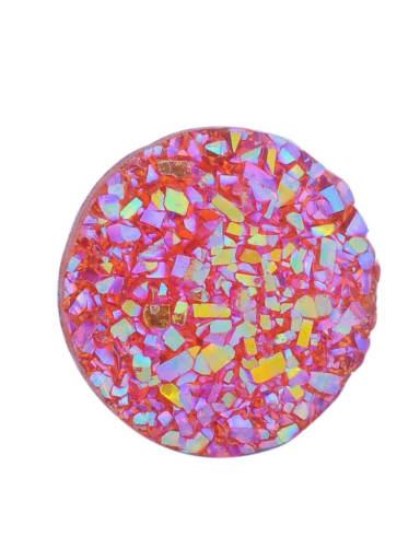 8 Multicolor Resin Star Charm Diameter : 12 mm