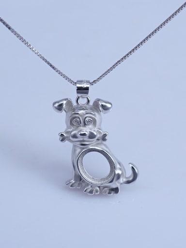 925 Sterling Silver Zodiac Pendant Setting Stone size: 8*10 9*11 10*14mm
