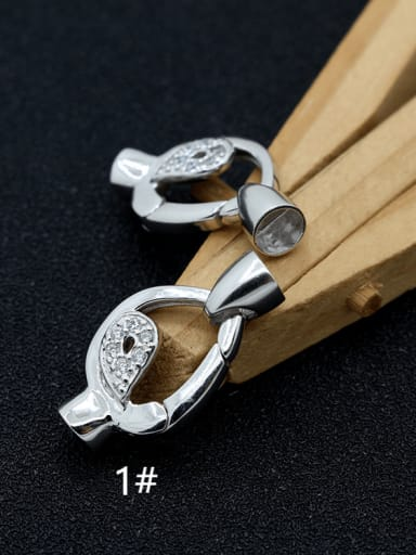 925 Sterling Silver Filigree Clasp