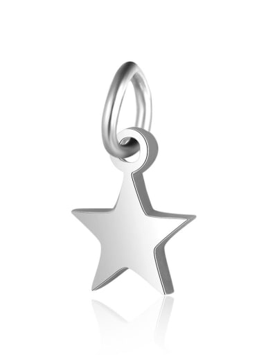 Stainless steel Star Charm