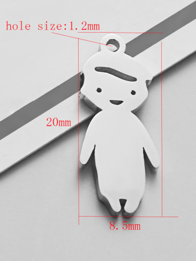 boy Stainless steel Charm