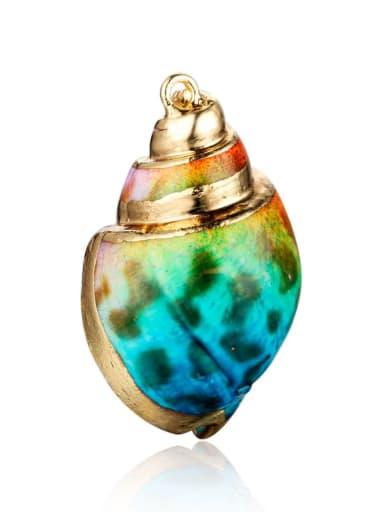 4 Multicolor Shell ConchCharm