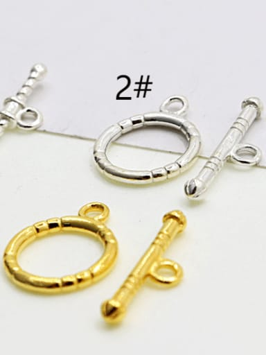 925 Sterling Silver Toggle Clasp