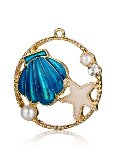 Alloy Star Charm Height : 26 mm , Width: 24 mm
