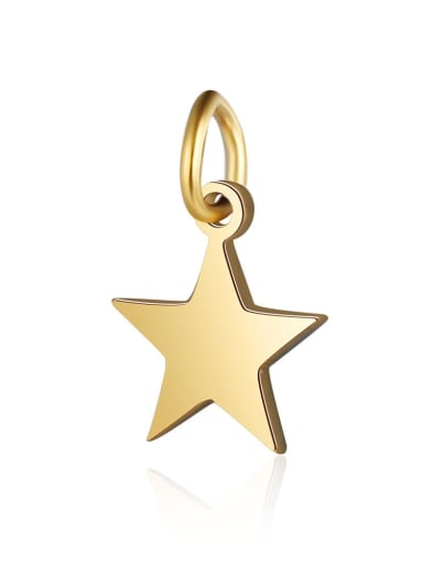 8*12 Stainless steel Star Charm