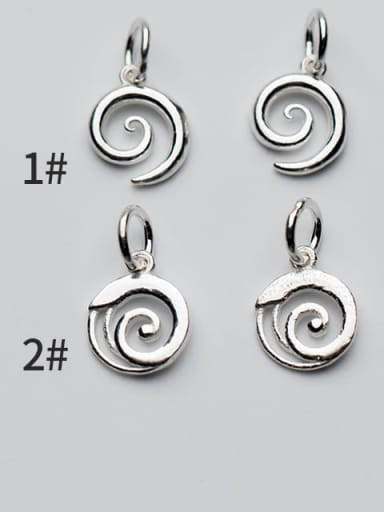 925 Sterling Silver Charm Height : 11 mm , Width: 9 mm