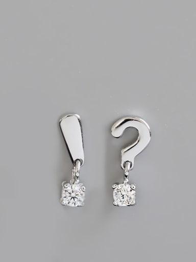 925 Sterling Silver Minimalist Stud Earring