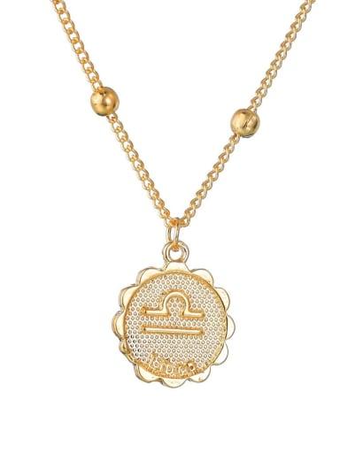 Alloy with Rhinestone Classic Zodiac Necklace