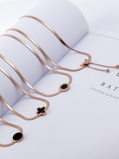 Titanium Sake Link Necklace