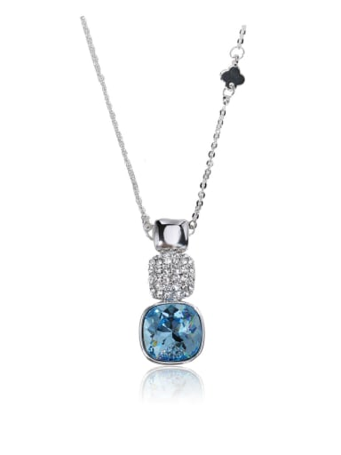 Dazzling Multi-color optional Swarovski element crystal necklace for party Charm