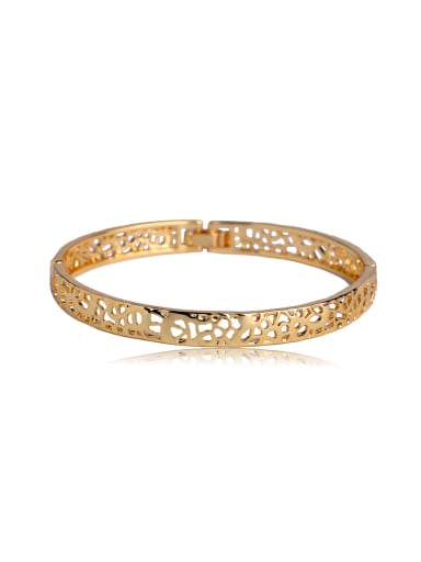 simple Hollow carved Bangle