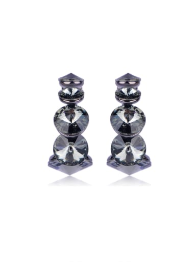 Shine Satellite Stone crystal Swarovski element crystal Earrings