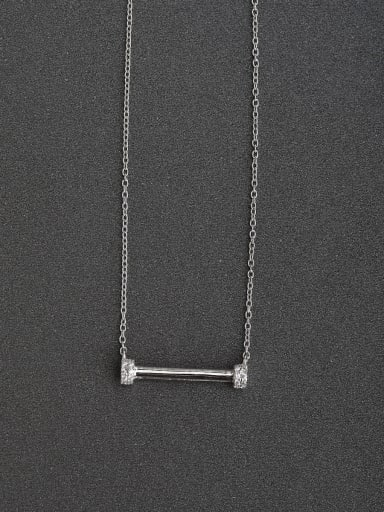 Simple word one  925 silver necklaces