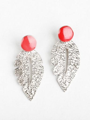 Retro leaves Chandelier Earrings