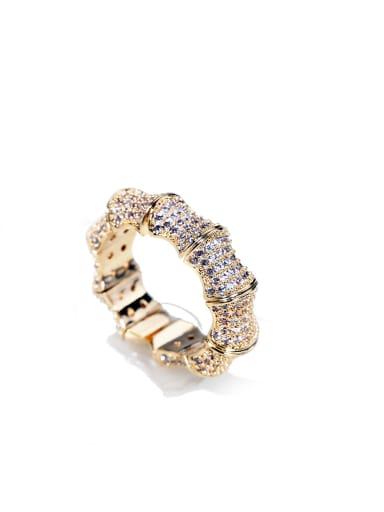 luxurious Micro-inlay Full Zircon Bling bling ring