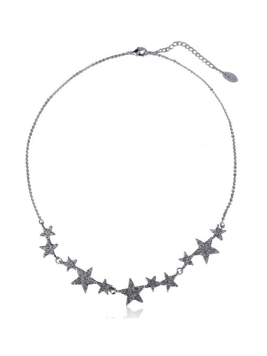 Bling bling Star Shaped Necklace