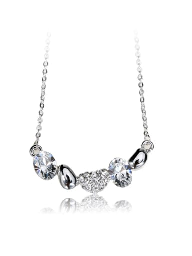 beautiful Swarovski element crystal necklace for party Charm