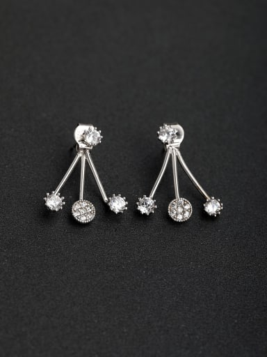 Sector Simple and lovely   925 silver Drop Earrings