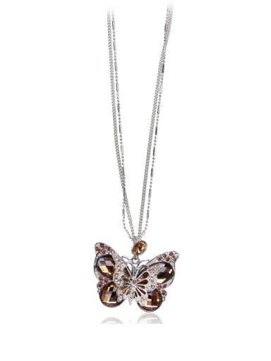Butterfly elves Multi Chain Necklace