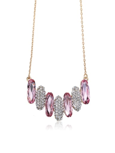 Gorgeous crystal Swarovski element crystal necklace