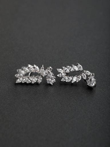 Horse Eye Stone  925 silver Drop Earrings