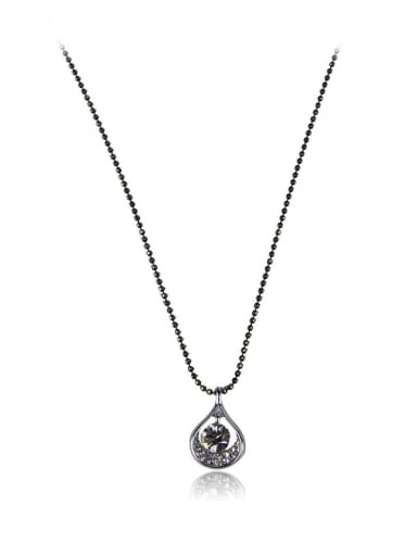 Water drop Rhinestone necklace