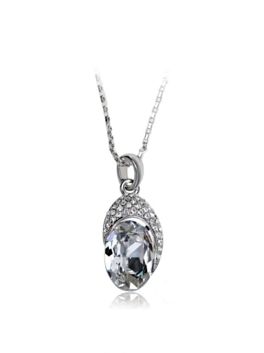 Small and exquisite Swarovski element crystal necklace