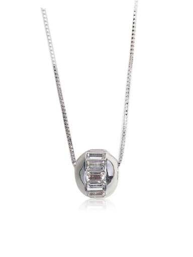 Single crystal Swarovski element crystal necklace
