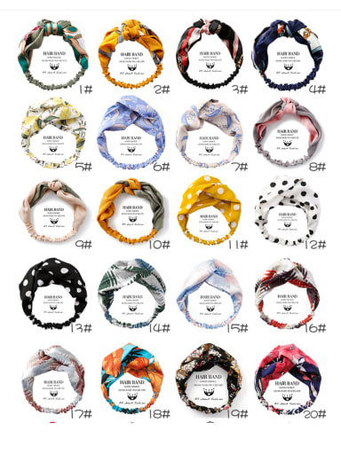 Sweet Hair Band Multi-color Options Headbands