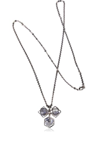 Brevity and glittering Necklace