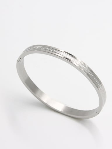 style with Stainless steel  Bangle   59mmx50mm