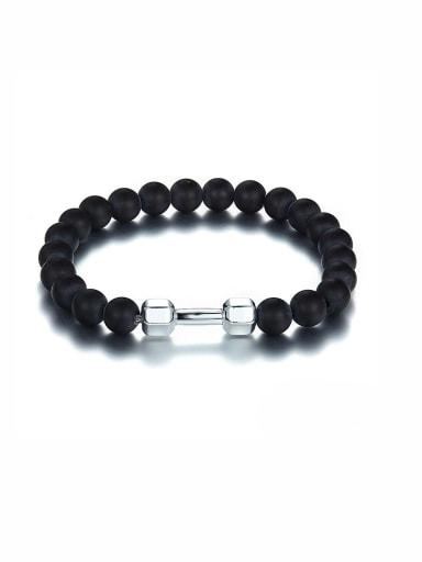 A Zinc Alloy Stylish Beads Bracelet Of