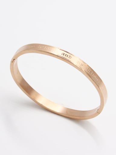 The new  Stainless steel   Bangle with Rose   59mmx50mm