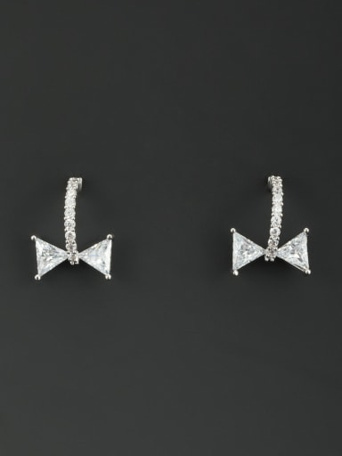 Fashion Platinum Plated Studs stud Earring