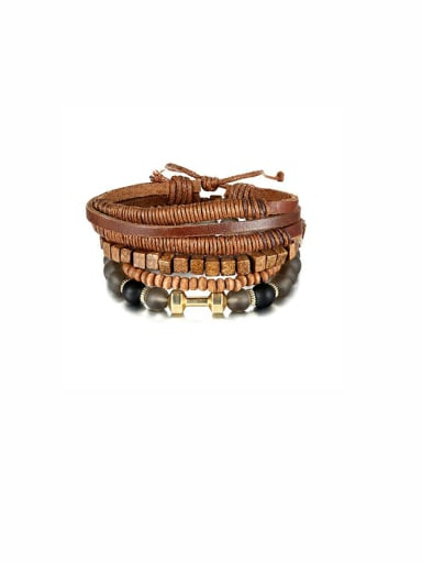 Charm style with Beads Bracelet