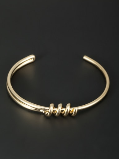 Bangle with Gold Plated