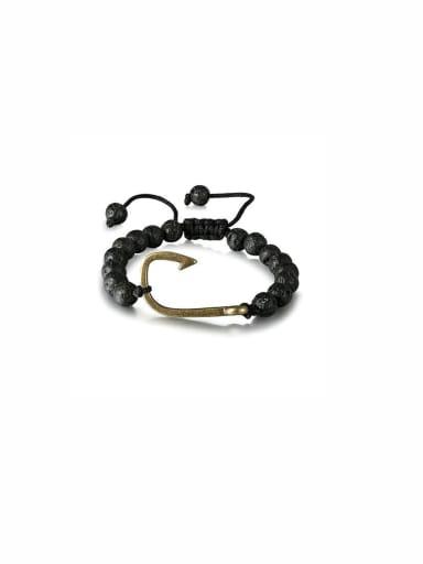 Model No 1000000607 Charm Beads Black Bracelet