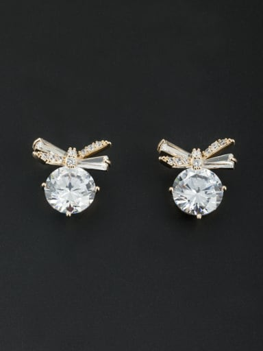 Fashion Gold Plated Butterfly Studs stud Earring
