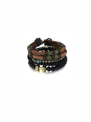 Custom Multi-Color Charm Bracelet with
