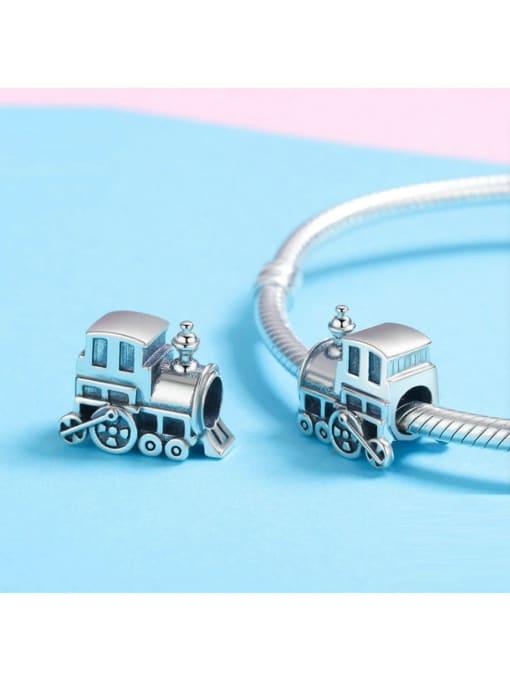 Maja 925 silver locomotive charm