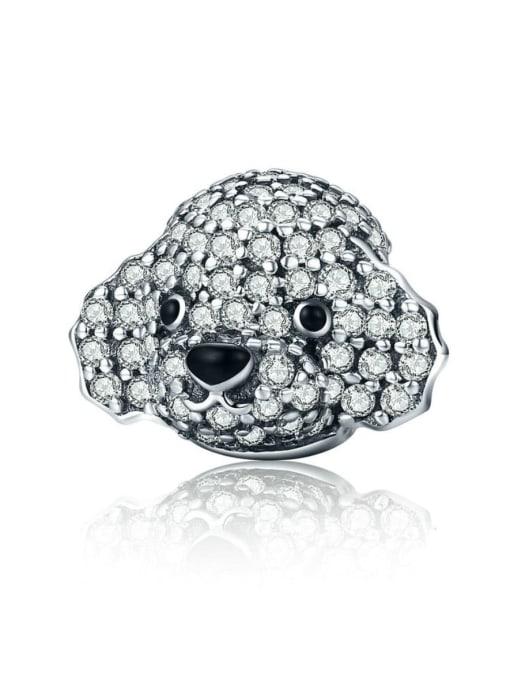 Maja 925 silver cute poodle charm