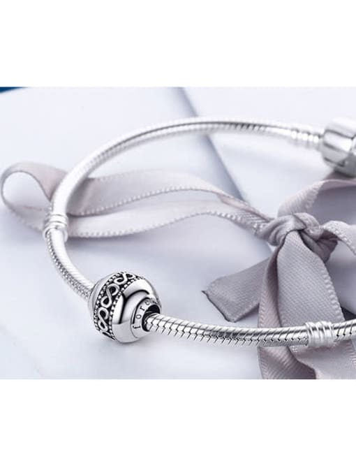 Maja 925 Silver Endless Symbol Element Accessories