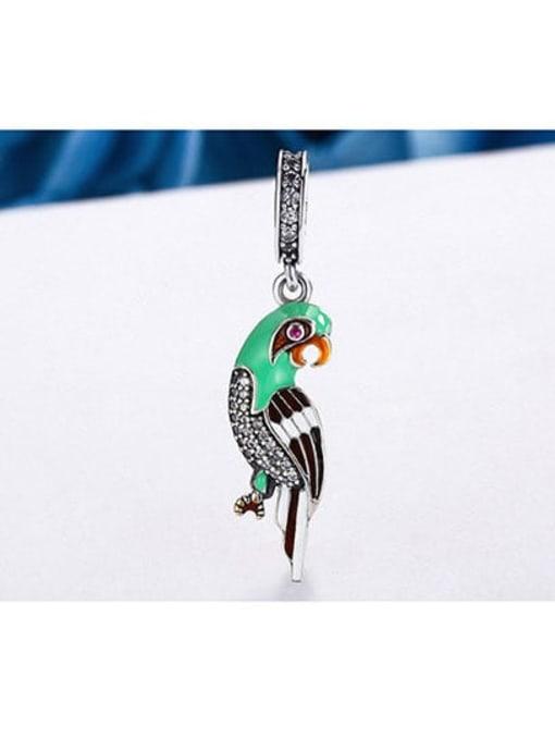 Maja 925 Silver Cute Parrot charm